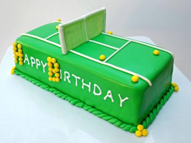 Поздравление с днём рождения теннисиста