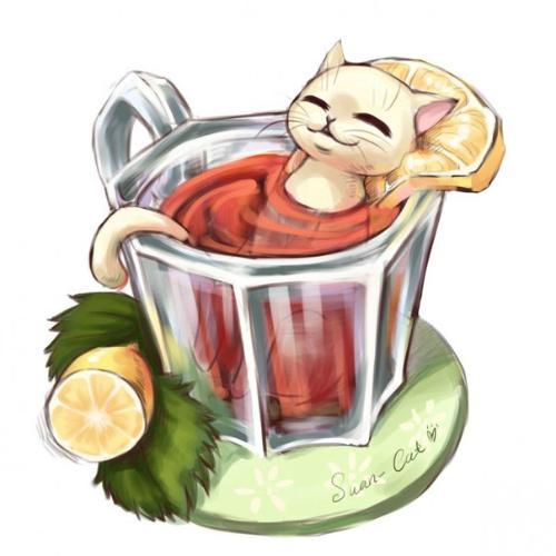 чай, ячмень