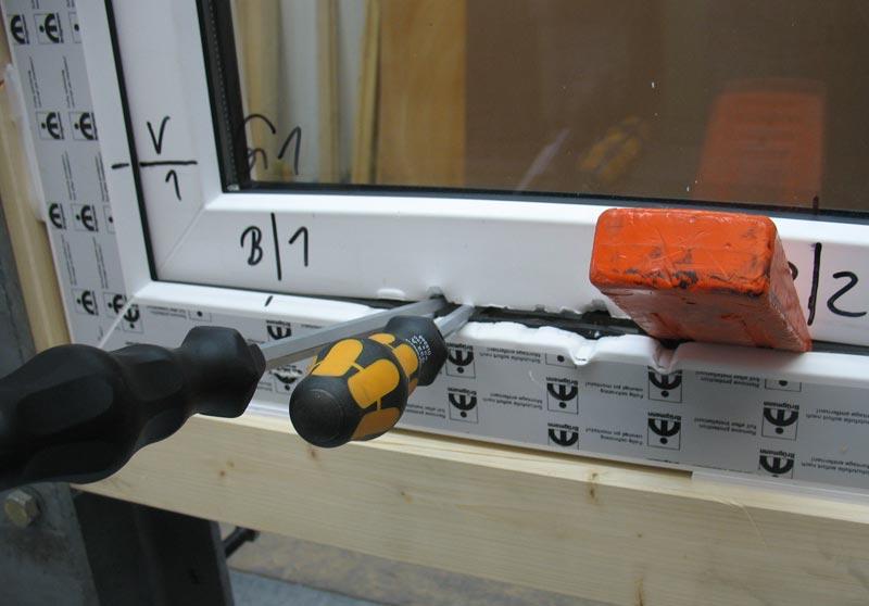 Противовзломная фурнитура для пластиковых окон своими руками