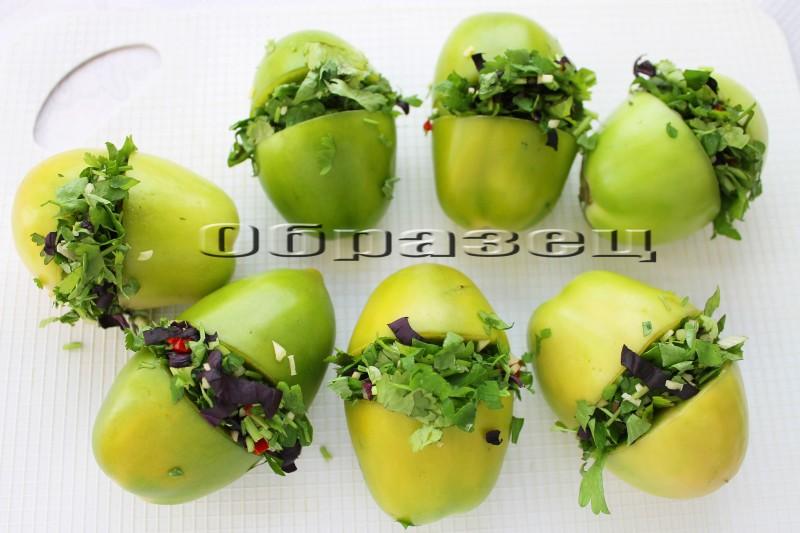 Как приготовить помидоры зеленые