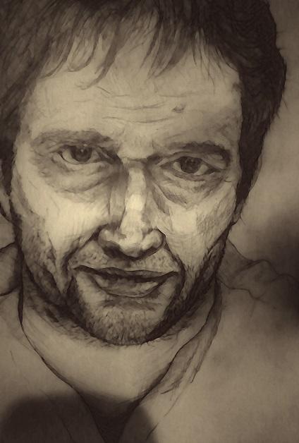 Портрет джо кэролла из сериала ,,последователи,,