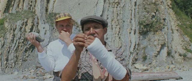 где снимался фильм бриллиантовая рука рыбалка на белой скале
