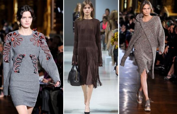 Каталог модных платьев осень