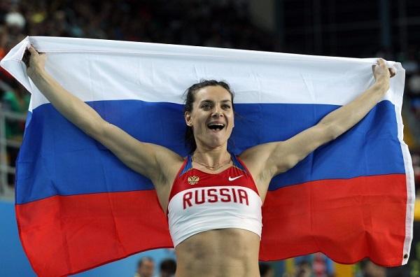 Все российские спортсмены имена