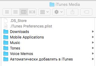 Медиатека iTunes на диске