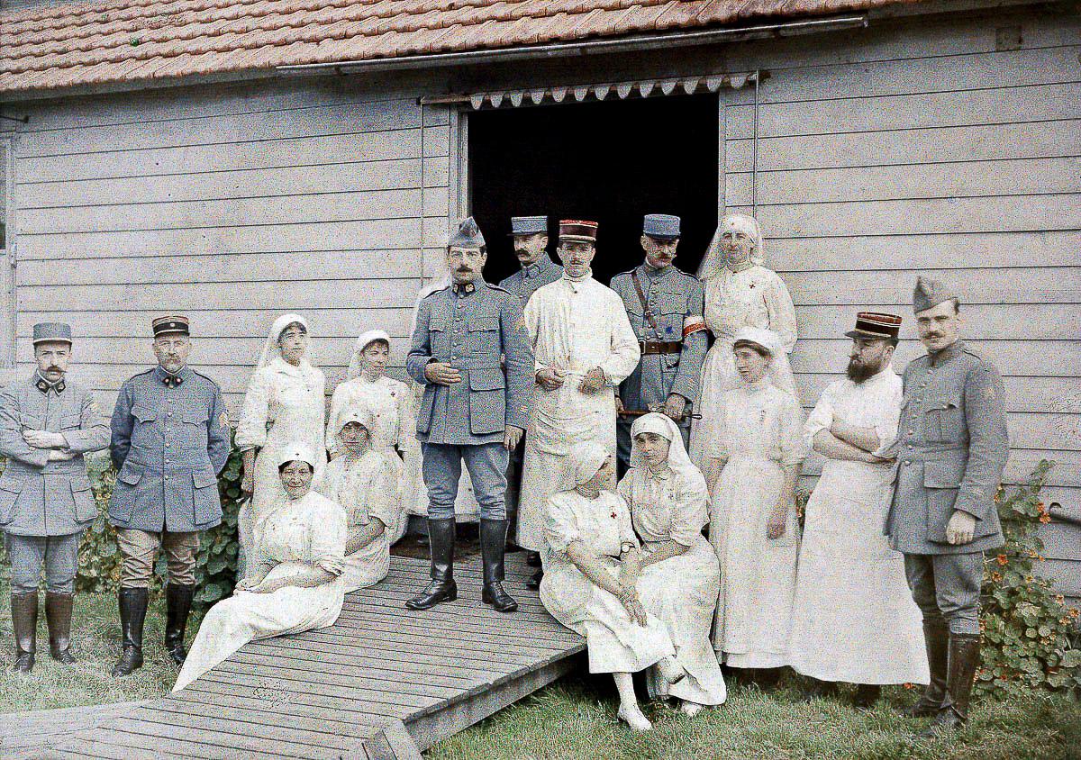 1917: Перша світова війна у кольорі