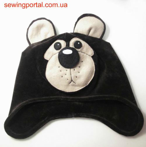Как сделать шапку медведя фото 724