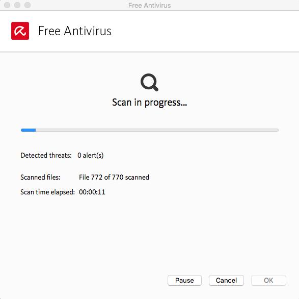 Сканирование всех файлов