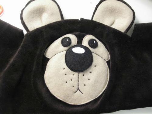 Как сделать шапку медведя фото 589