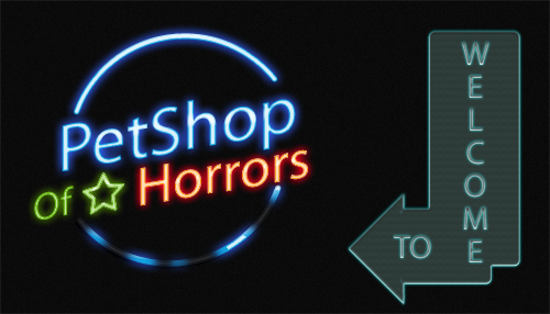 Баннер WTF Petshop of Horrors 2016