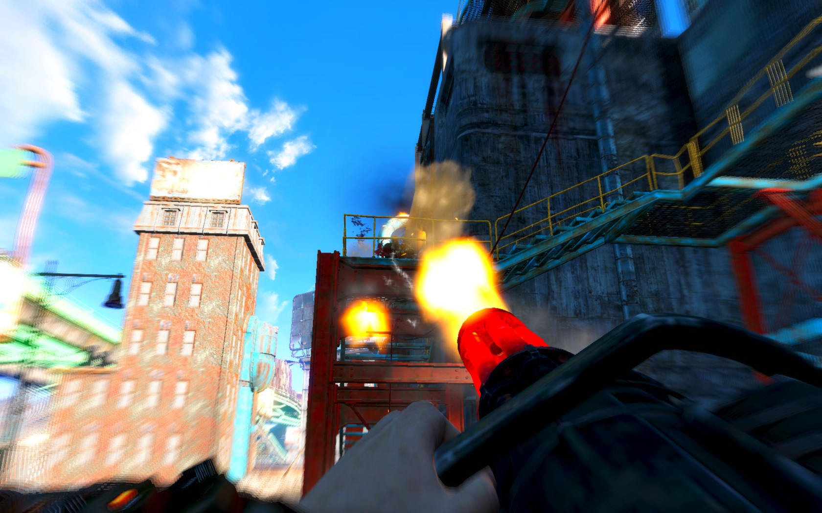 Замедление времени ☢ Bullet Time ☢ v0.7 для Fallout 4 - Скриншот 3