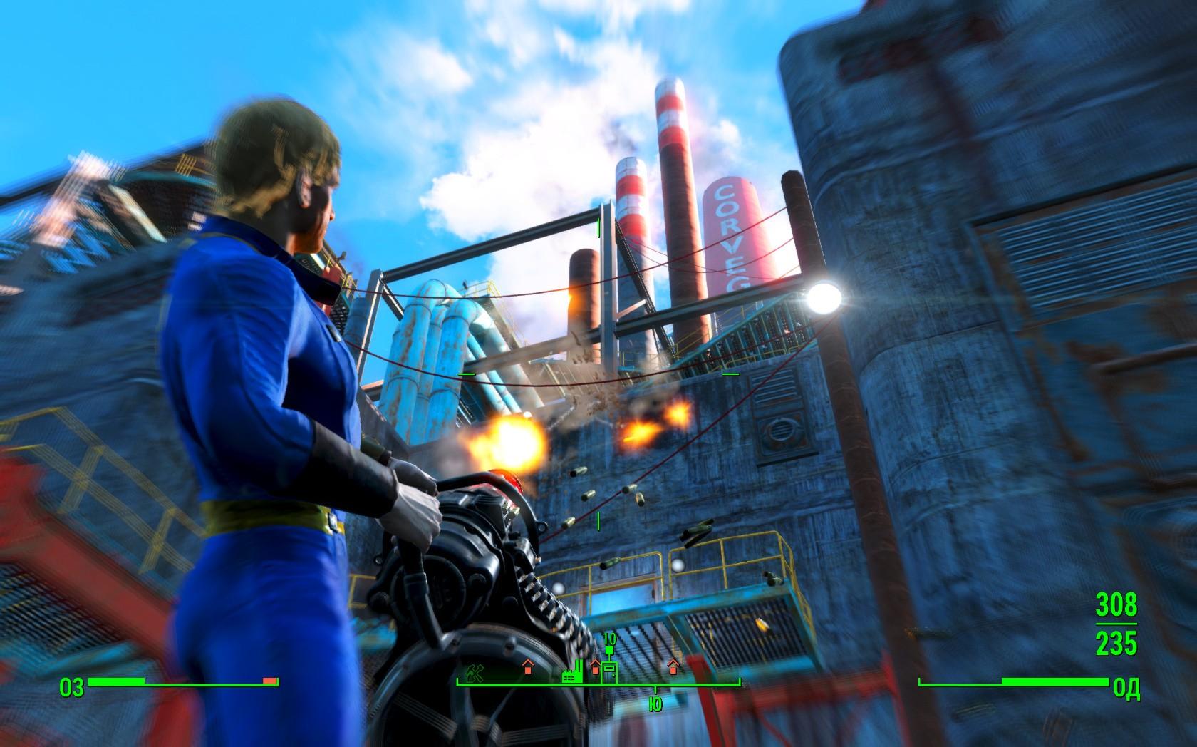 Замедление времени ☢ Bullet Time ☢ v0.7 для Fallout 4 - Скриншот 1