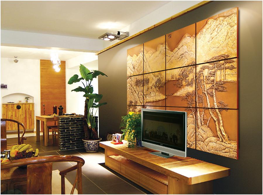 3д стеновые панели из гипса