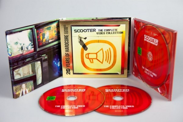 Scooter ?– The Complete Video Collection (2013) 2 x DVD5