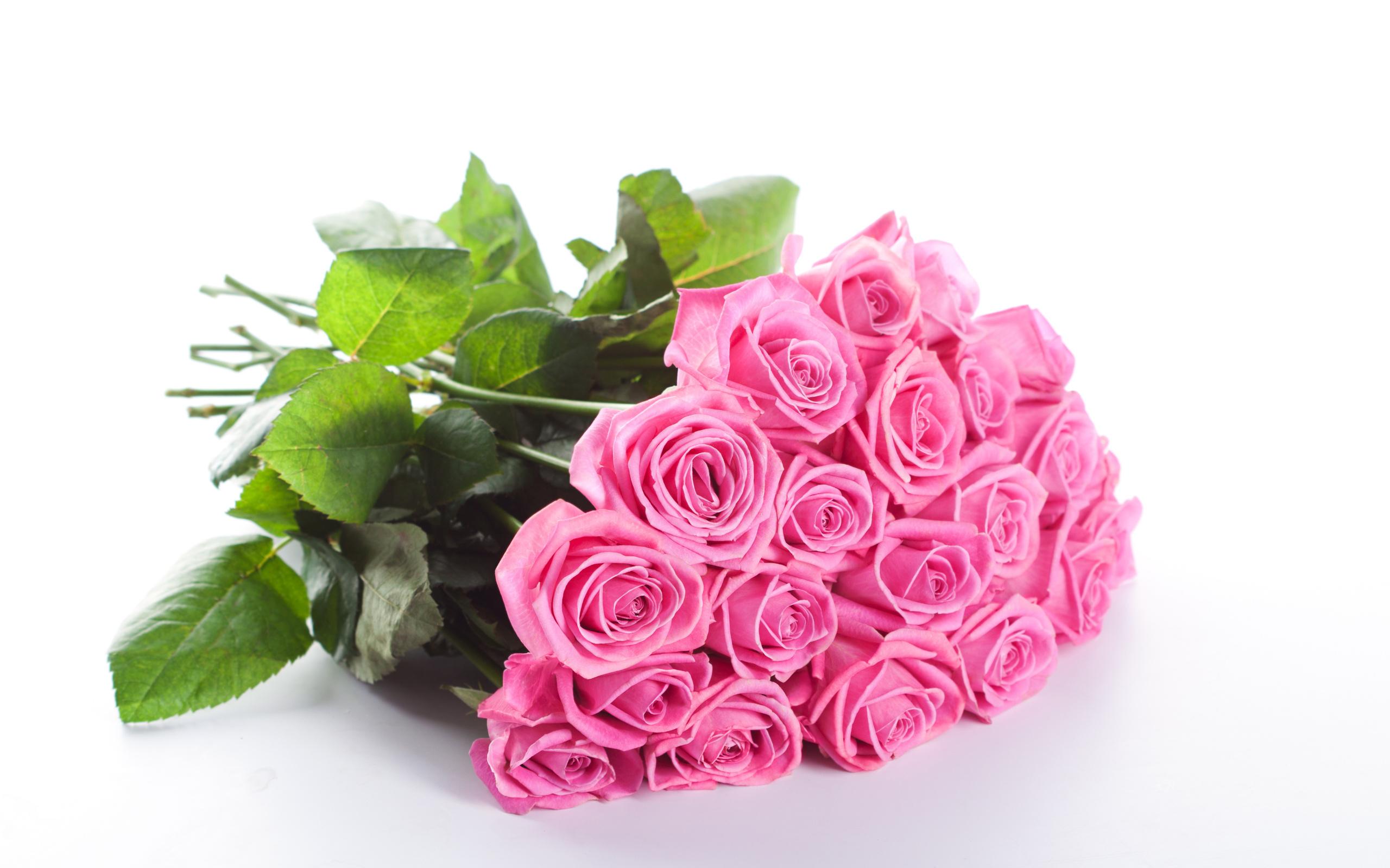 Картинки букет рз розовых с днем рождения 5