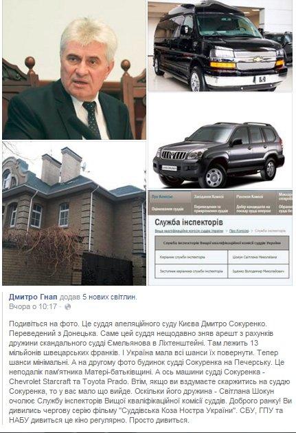 """""""Никаких комментариев не даю"""", - судья Карабань решил не арестовывать 13 млн франков на зарубежных счетах жены своего коллеги Емельянова - Цензор.НЕТ 9971"""