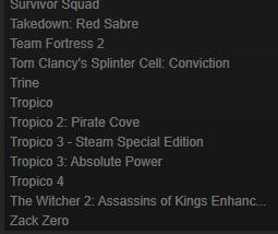 Продам собственный аккаунт Steam