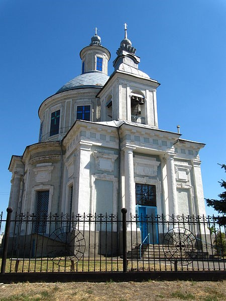фото: Успенська церква (1802). Фото — Riwnodennyk (2010).