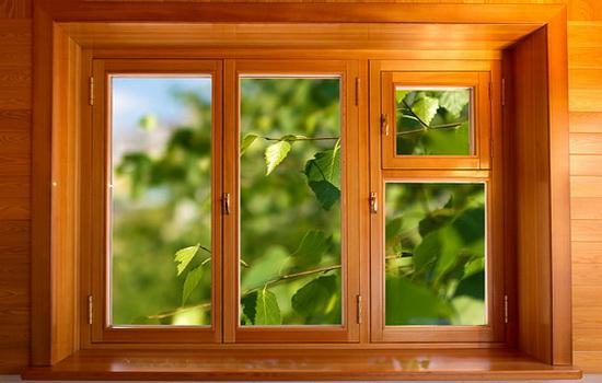 Купить окна из дуба