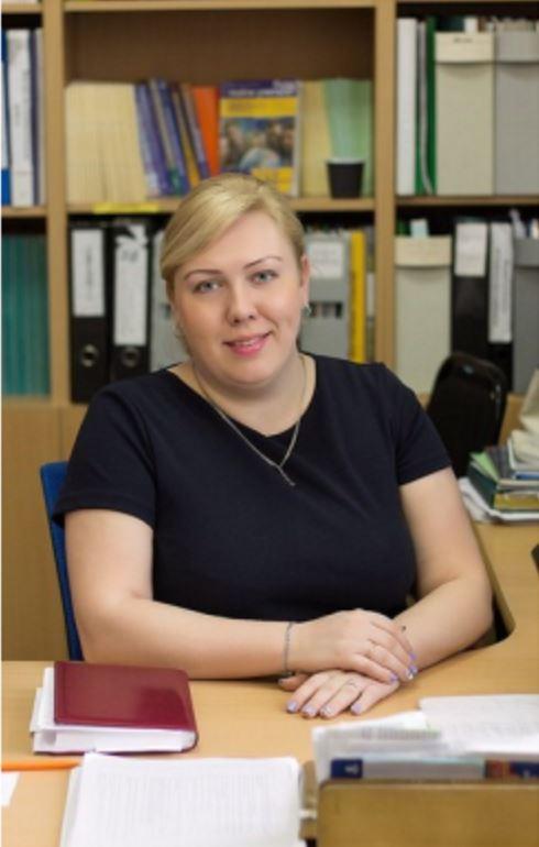 Шитикова Анна Викторовна, заведующая методкабинетом