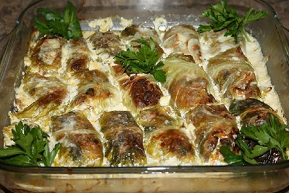 Голубцы рецепт в духовке рецепт с фото пошагово