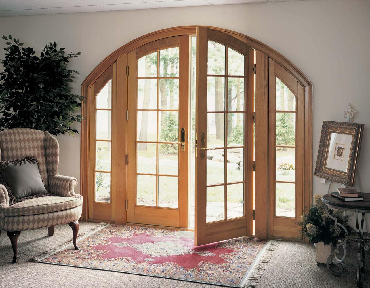Купить деревянную балконную дверь