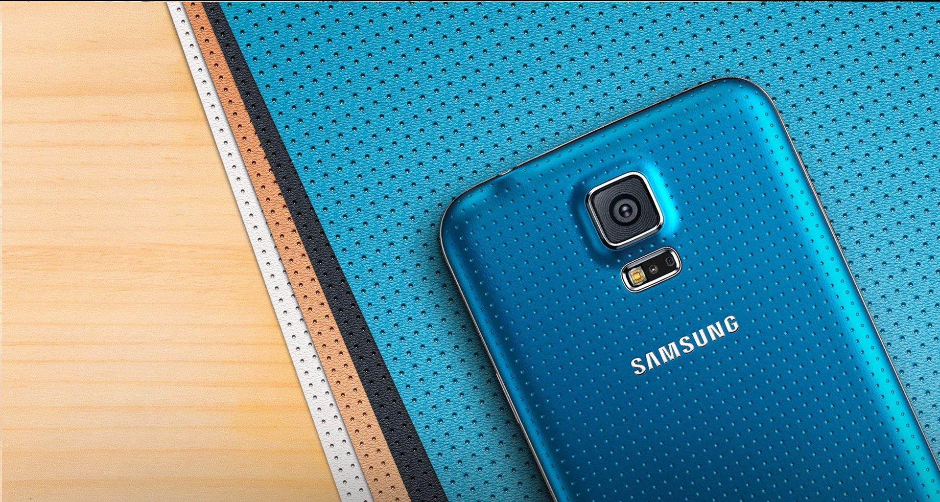 Баннер смартфона Samsung Galaxy S5