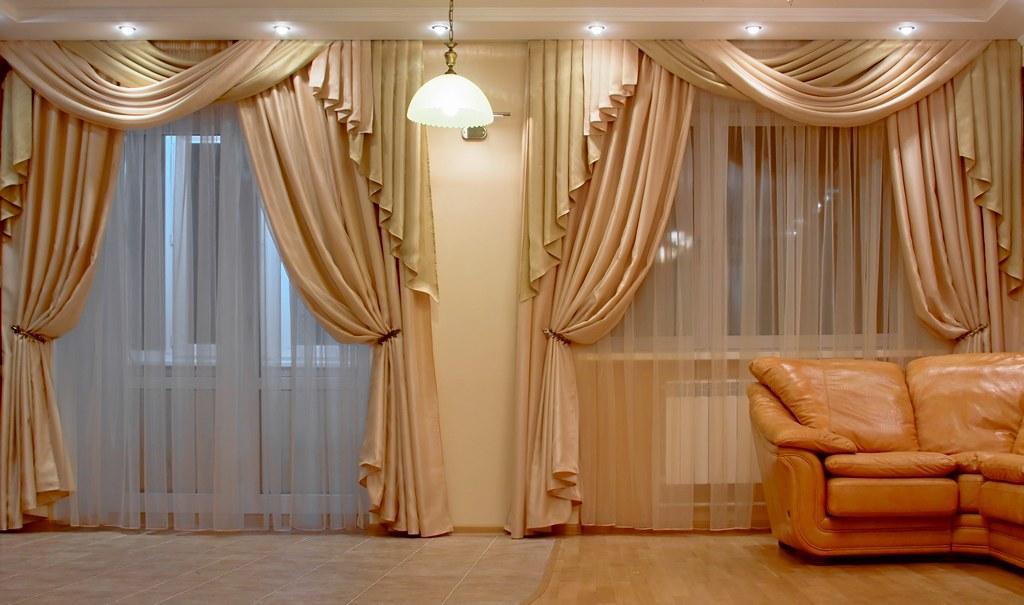 шторы гостиной изготовление