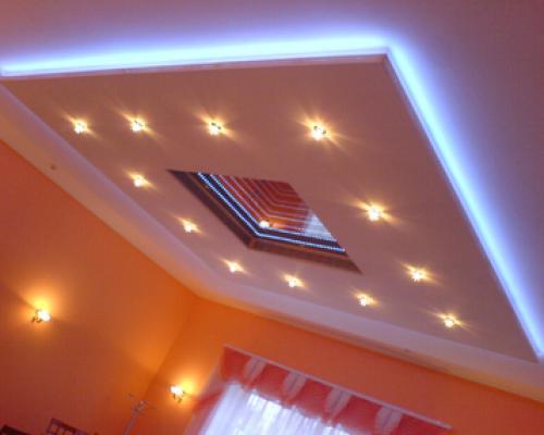 Точечный встраиваемый светодиодный потолочный светильник - фото3