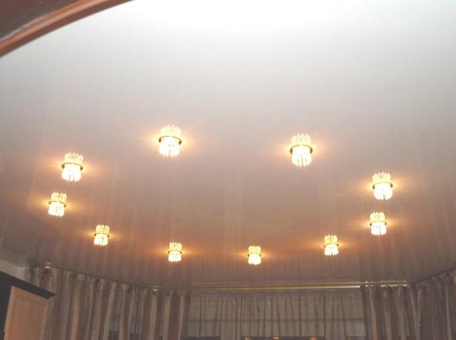 Наружные светильники для натяжных потолков - фото3