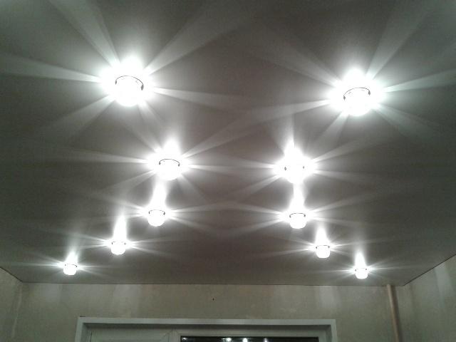 Наружные светильники для натяжных потолков - фото2