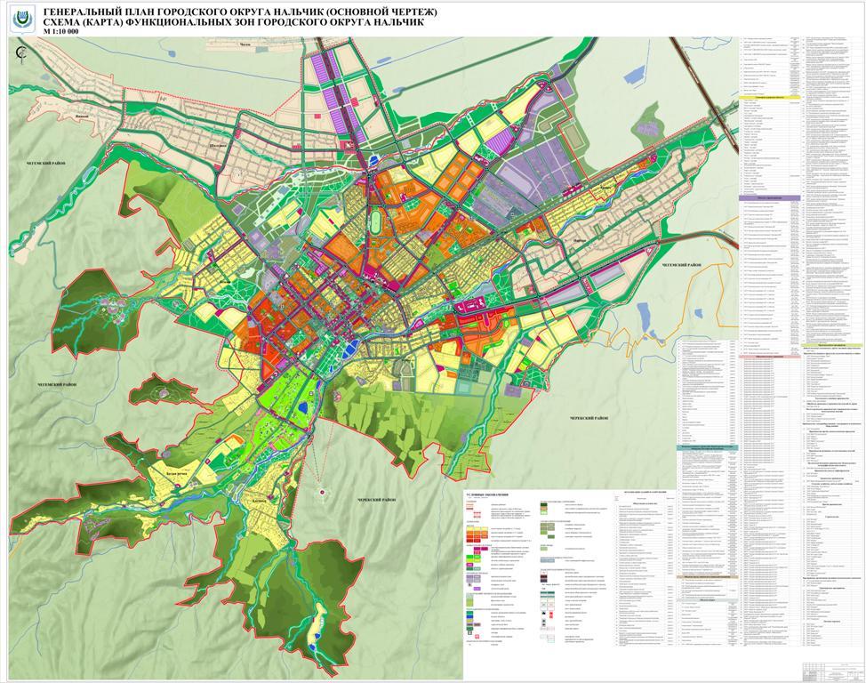 Городу представили новый генеральный план