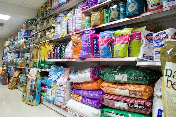 магазин кормов для животных