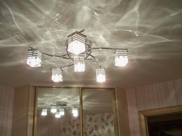 Наружные светильники для натяжных потолков - фото1