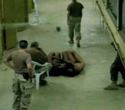 real life vs vs abu ghraib