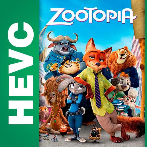 Зверополис / Zootopia (2016) BDRip HEVC 1080р | Локализованная версия | Лицензия