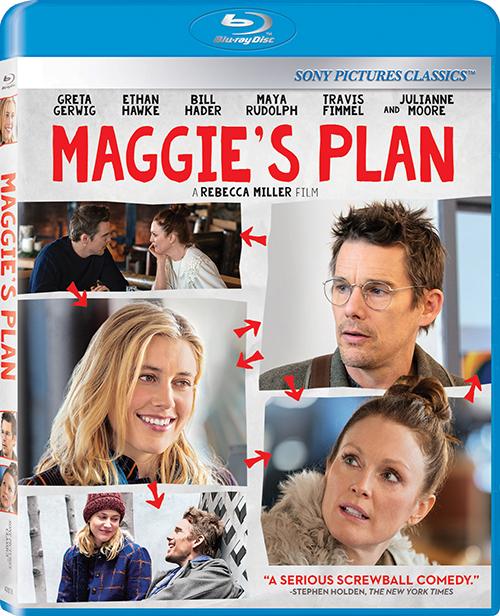 План Мэгги / Maggies Plan (2015) Blu-Ray | US Transfer
