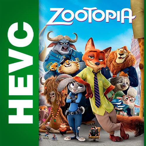 Зверополис / Zootopia (2016) BDRip HEVC 1080p | Локализованная версия | Лицензия
