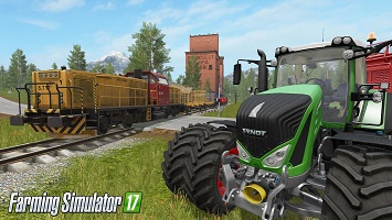 Farming Simulator 17 - Поезда