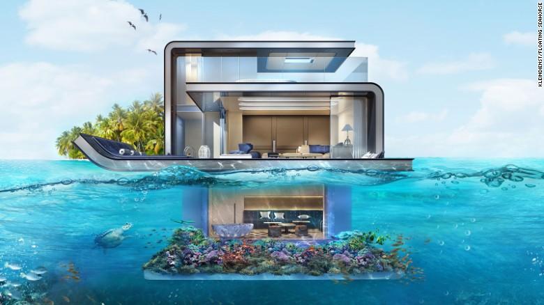 Подводные виллы