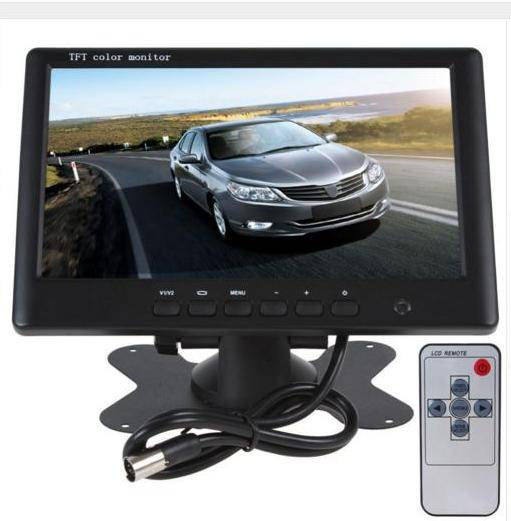 43 tft lcd car reverse rear view color monitor for backup night vision camera