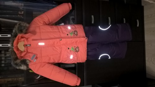 Продам куртку р.110 (330гр) и полукомбинезон 116 (150гр) для девочки(Ленне,новое) Af71547d89d3d0c069ee6260dd2305e8