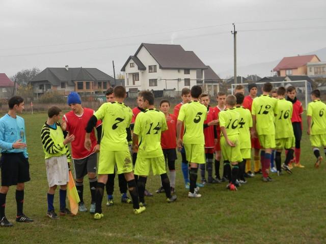 Фінал районних змагань з футболу серед шкіл пройшов у Іршаві