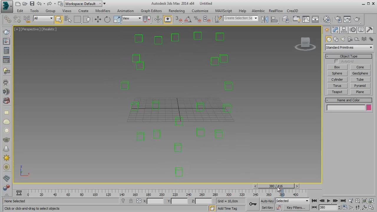 Boujou2max 3d max screenshot 2