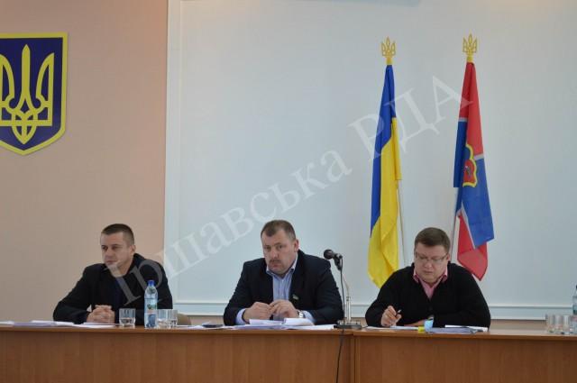 Іршавські депутати засідали на шостій сесії районної ради VII скликання