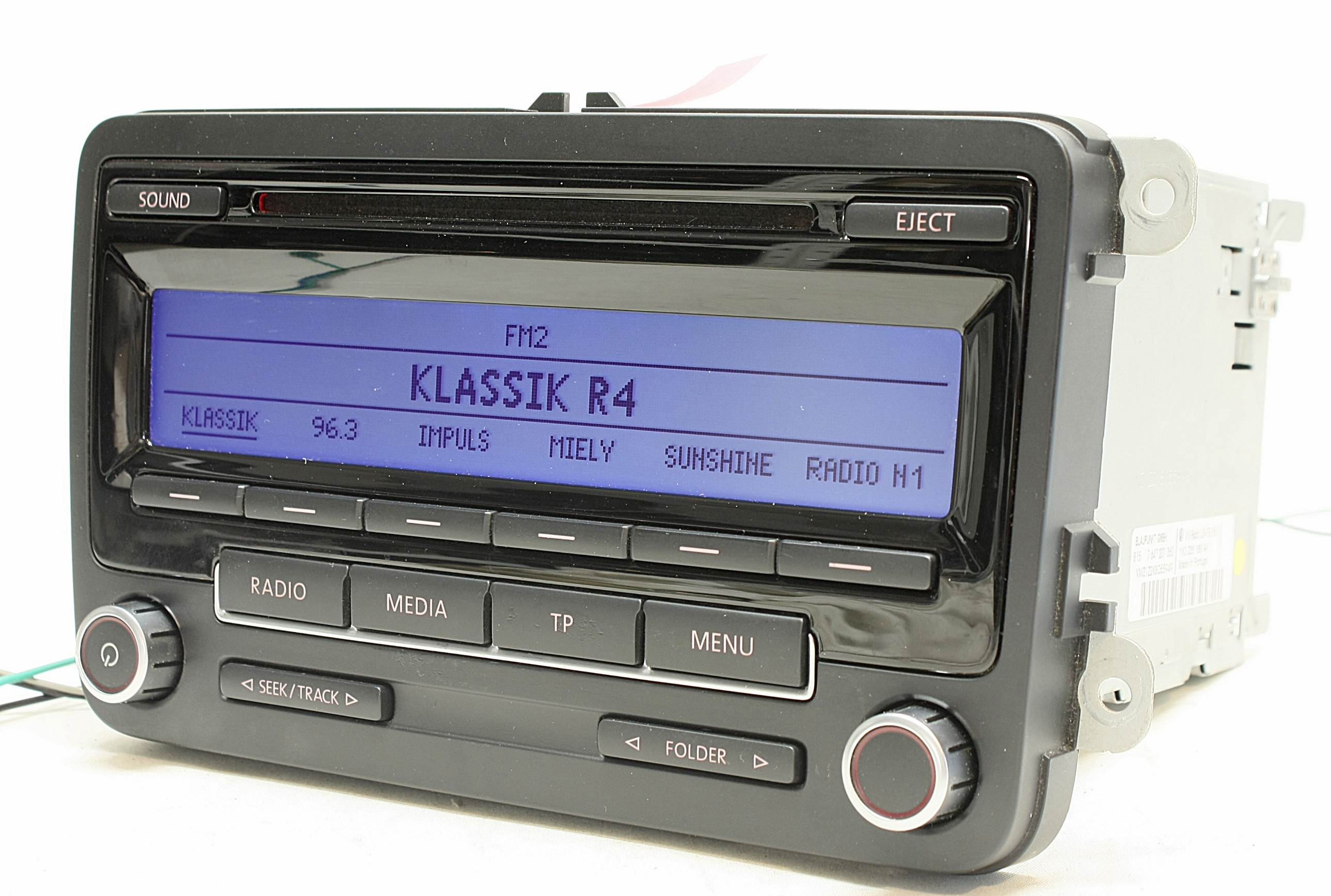 vw rcd 310 cd player mp3 autoradio ebay. Black Bedroom Furniture Sets. Home Design Ideas
