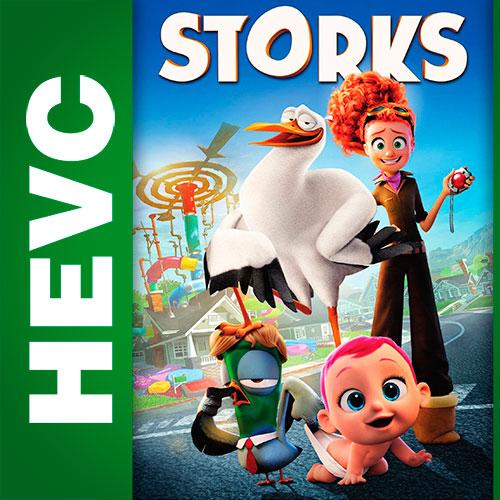 Аисты / Storks (2016) BDRip HEVC 1080p | D | iTunes