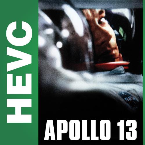 Аполлон 13 / Apollo 13 (1995) HD-DVDRip HEVC 720p | D