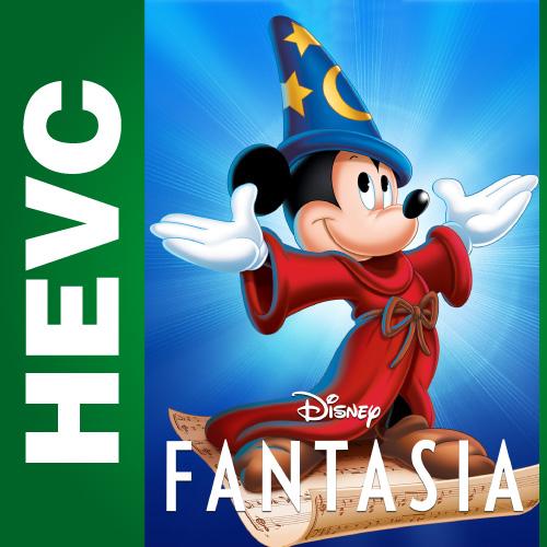Фантазия / Fantasia (1940) BDRip HEVC 1080p |  P1