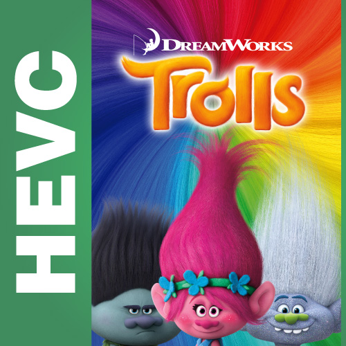 Тролли / Trolls (2016) BDRip HEVC 720p | Лицензия